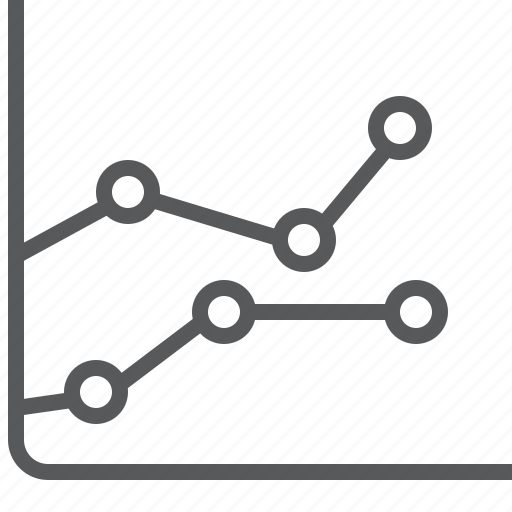 analytics, chart, diagram, graph, line, report, statistics icon