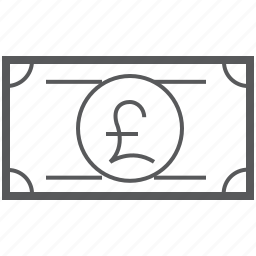 banking, british, currency, finance, money, payment, pound icon