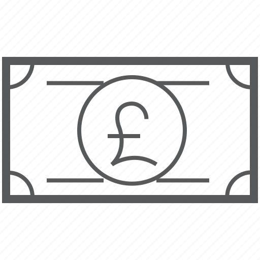 Pound, banking, british, currency, finance, money, payment icon - Download on Iconfinder