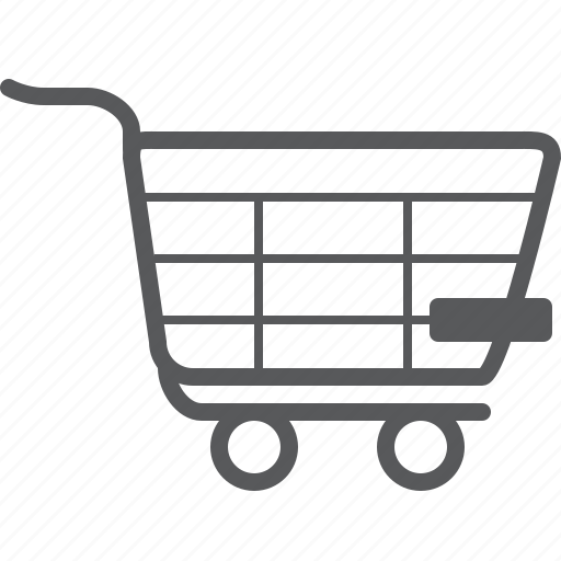cart, delete, minus, remove, shopping, trash, trolley icon