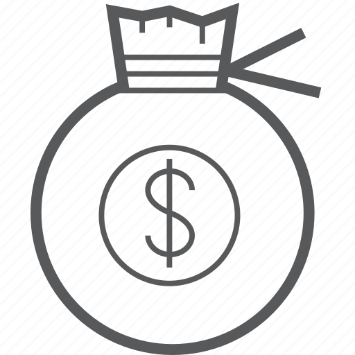 Dollar, pocket, bag, currency, money, payment, save icon - Download on Iconfinder
