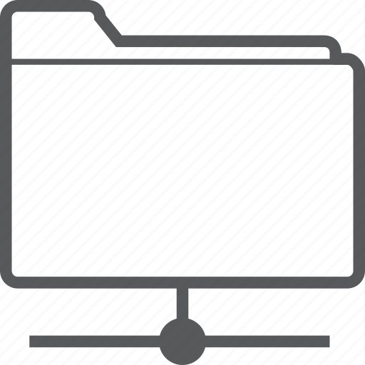 data, documents, folder, network, share, sharing, storage icon