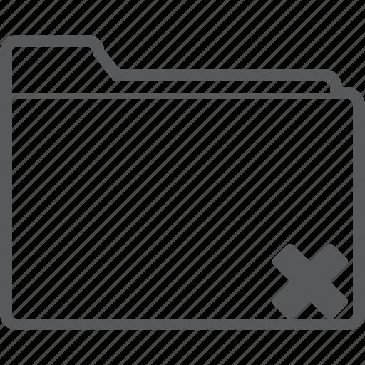 database, delete, document, folder, remove, storage, trash icon