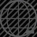 network, remove, communication, global, delete, internet, social icon