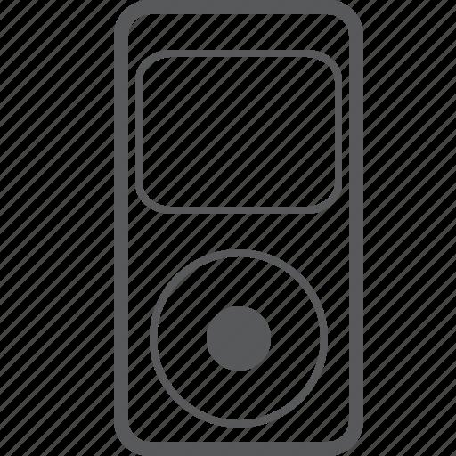 audio, ipod, multimedia, music, player, smart, video icon