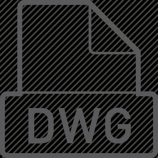 basic, dwg, file icon