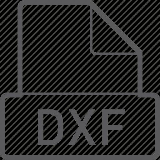 basic, dxf, file icon