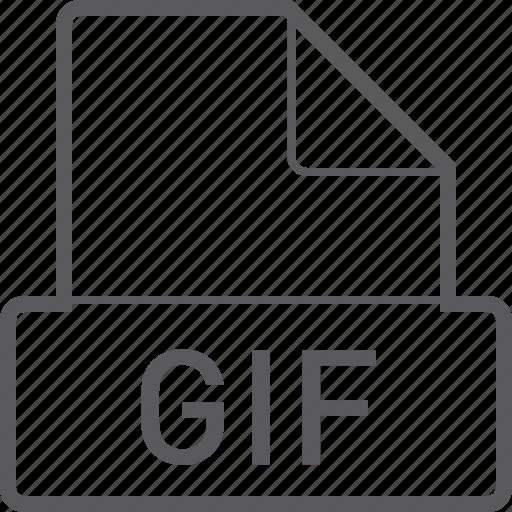 basic, file, gif icon