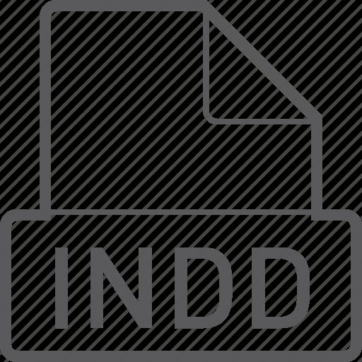 basic, file, indd icon