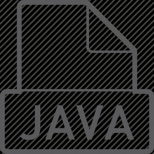 basic, file, java icon