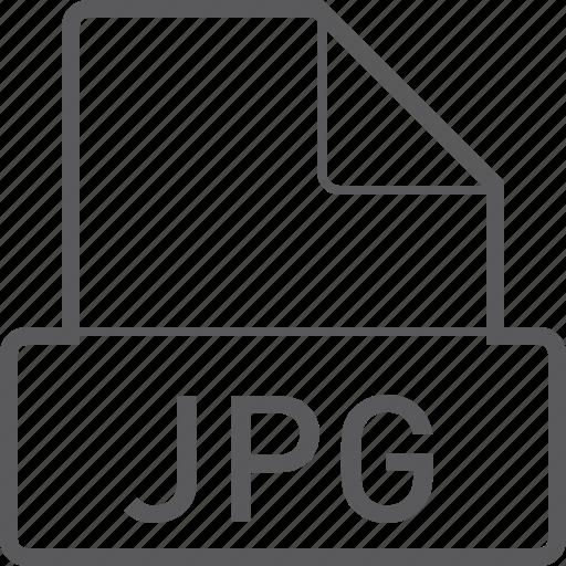 basic, file, jpg icon