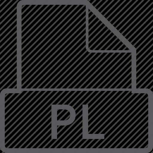basic, file, pl icon