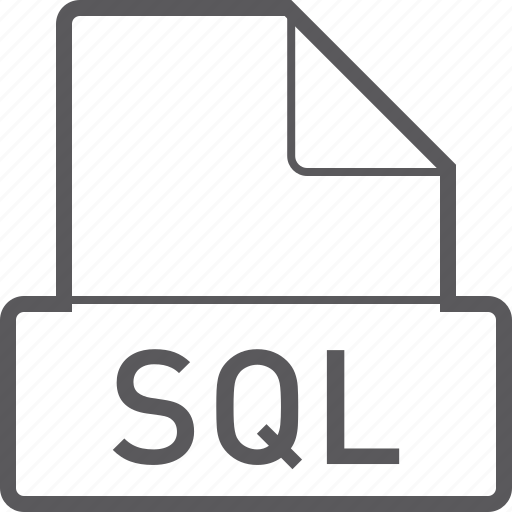 basic, file, sql icon
