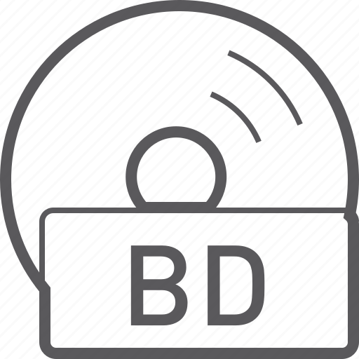 basic, bd, disc, file icon