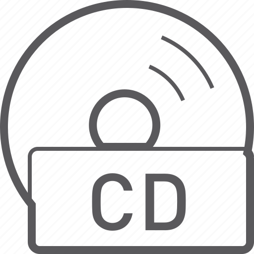 basic, cd, disc, file icon