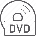 basic, disc, dvd, file icon