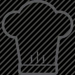 chef, cooking, hat, head, kitchen, restaurant icon