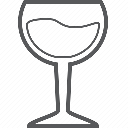 Glass, alcohol, beverage, cup, drink, wine icon - Download on Iconfinder