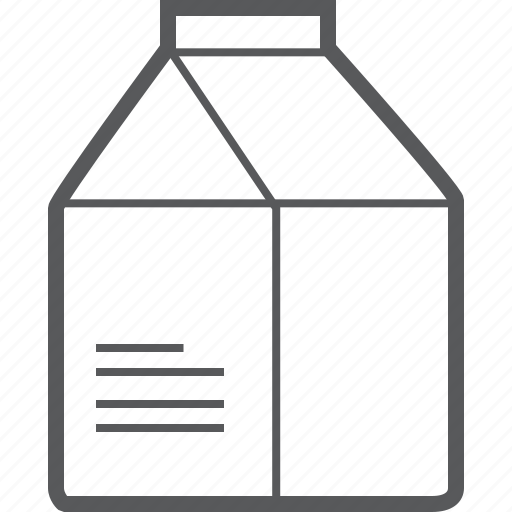 bottle, drink, milk, pack, package icon
