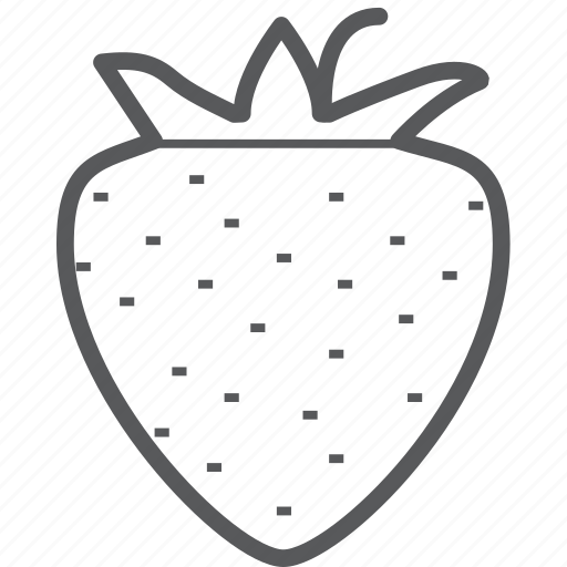 berry, fresh, fruit, strawberries, strawberry icon