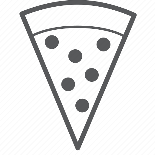 eating, fast, food, italian, pizza, slice, slide icon