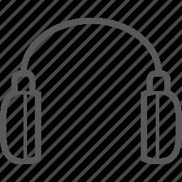 audio, device, headphone, headphones, headset, multimedia, music icon