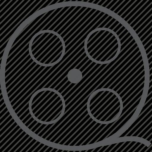 film, film reel, media, movie, multimedia, player, video icon