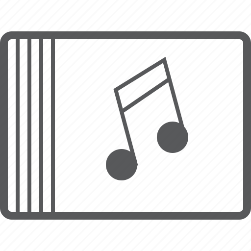 cover, disc, eighth, media, music, musical, note icon