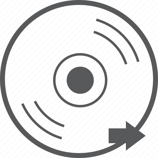 cd, disc, forward, media, music, next, right icon