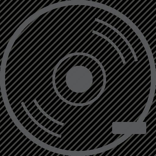 cd, delete, disc, media, minus, player, remove icon