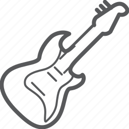 electric, guitar, instrument, media, music, musical, rock icon