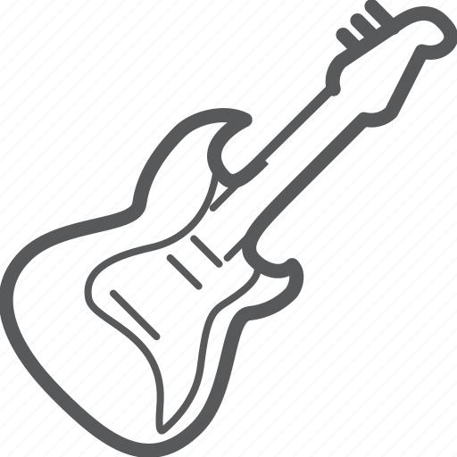 Electric, guitar, instrument, media, music, musical, rock icon - Download on Iconfinder