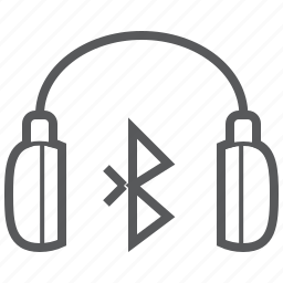 bluetooth, headphone, headphones, multimedia, phone, wireless icon