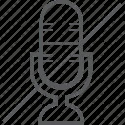 audio, device, media, microphone, multimedia, mute icon