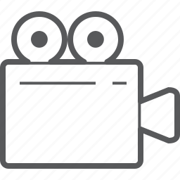 camera, cinema, film, movie, multimedia, photography, projector icon