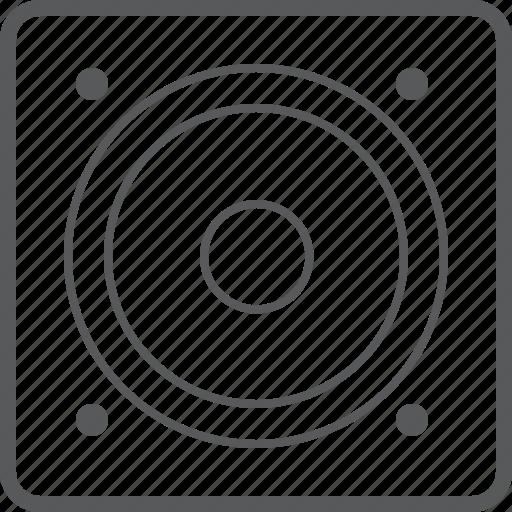 device, loudspeaker, media, music, sound, speaker icon