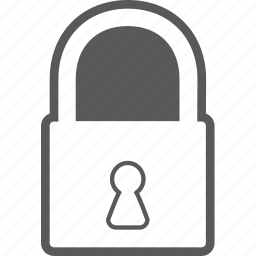 lock, locked, password, protect, safety, secure, security icon