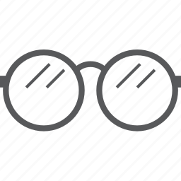 eye, eyes, glass, glasses, ophthalmic, optometry icon