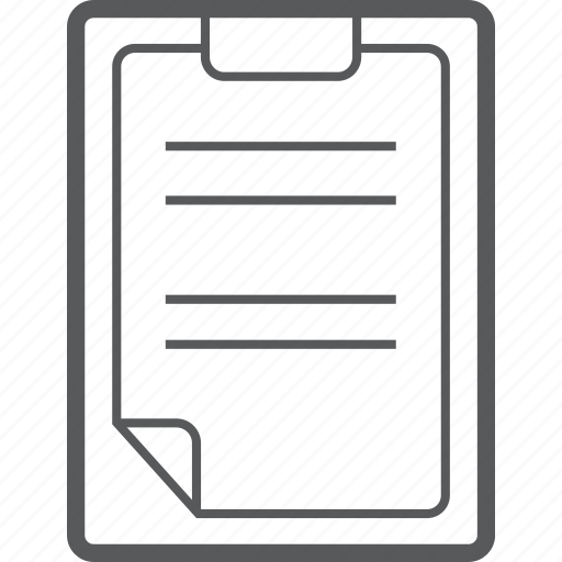 checklist, clipboard, document, list, paper, tick icon