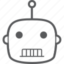 automatic, device, intelligent, robot, robotic, robotics, technology icon