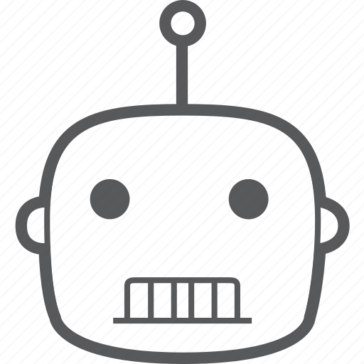 automatic, device, intelligent, robot, robotic, robotics, technology icon