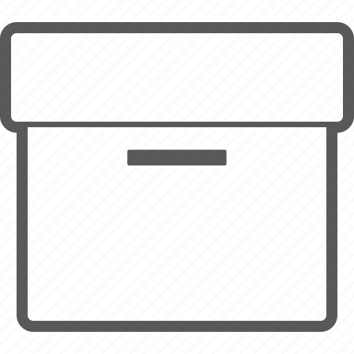 box, gift, package, present, storage icon