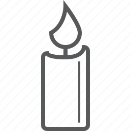 candle, candles, light, light candle icon