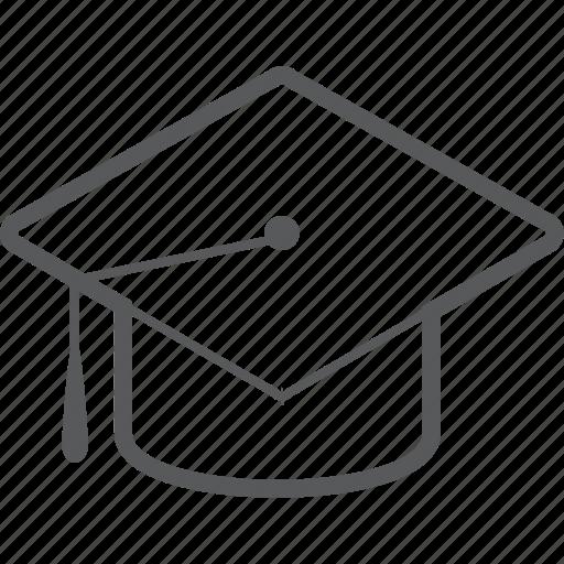 cap, college, education, graduation, graduation cap, student, university icon