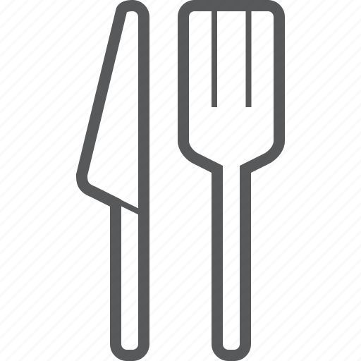 food, fork, kitchen, knife, restaurant icon