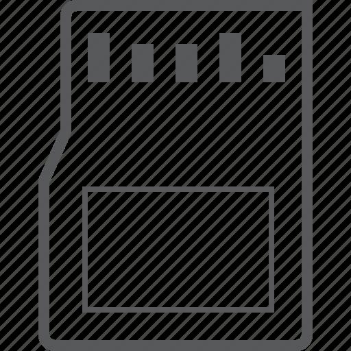 card, hardeware, memory, memory card, sd, sd card, ssd icon