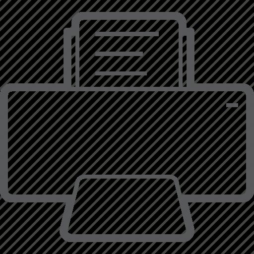 Printer, copyer, paper, photocopy, print, print machine, printing icon - Download on Iconfinder