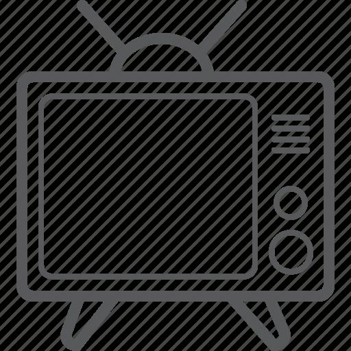 channel, monitor, retro, retro tv, screen, television, tv icon