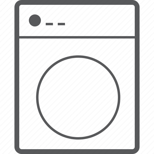 automatic, clean, laundry, machine, wash, washing, washing machine icon