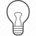 lightbulb, bulb, creative, electricity, light, lightning, tube